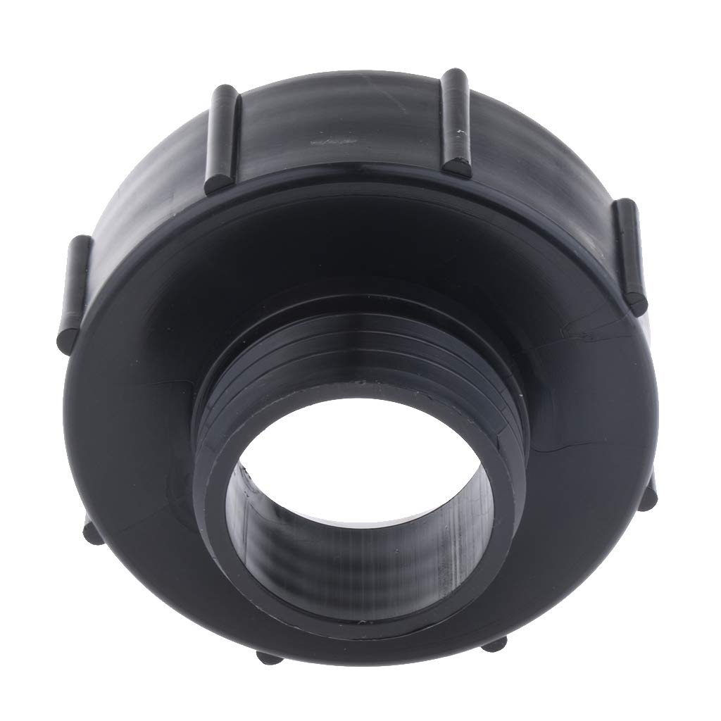 Easy to Install 2 Pcs Plastic IBC Tote Valve Adapter 3 inch DN80 Female to 2 inch DN50 Male IBC Tank Fitting for Hose