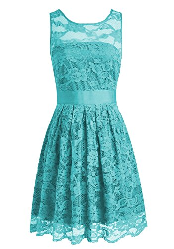 Cdress Bridesmaid Prom Formal Evening Lace Short Jade Gowns Flora Dresses Dress Wedding ZrxxqawX