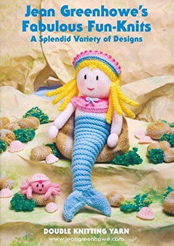- Jean Greenhowe Fabulous Fun-Knits Knitting Book Double Knitting Patterns In A Variety Of Designs