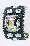 Best Fashion Destination Friend Jelly Bracelets - Trendy Fashion Jewelry Square Crystal Pony Bracelet By Review