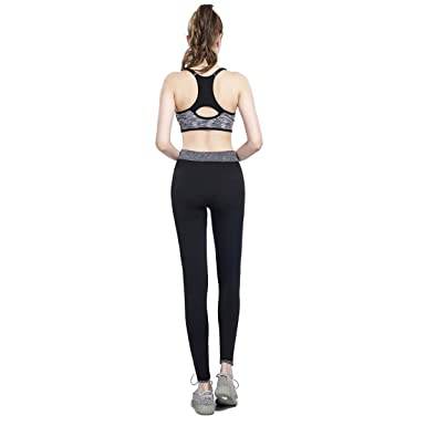 bf05a3d33ef58 Amazon.com  Rostiumise Womens Sports Leggings Tummy Control Fitness Tights  Pants Activewear for Yoga