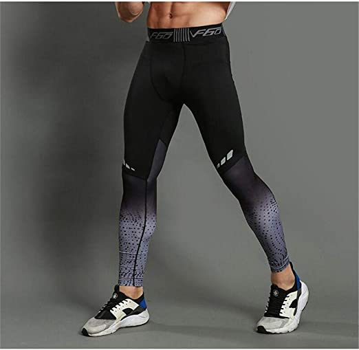 Men Sport Running Yoga Gym Pant Compression Tights Fitness Trousers Quick Drying