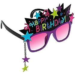 "Stylish Birthday Party Birthday Chic Funshades Accessory, Plastic, 6"" x 4"""