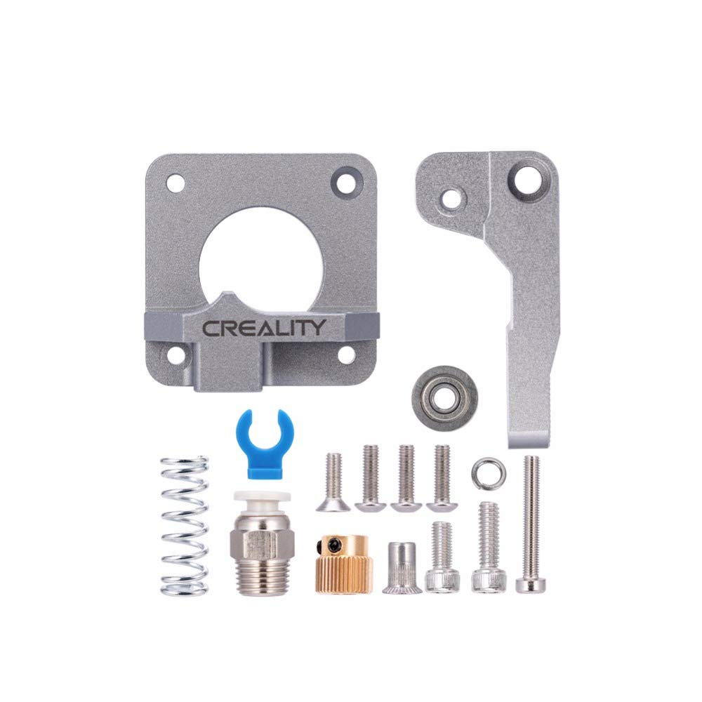 CHPOWER Ender 3 Extruder Upgraded Replacement, Aluminum MK8 Drive Feed 3D Printer Extruders for Creality Ender 3, CR-10, CR-10S, CR-10 S4, CR-10 S5