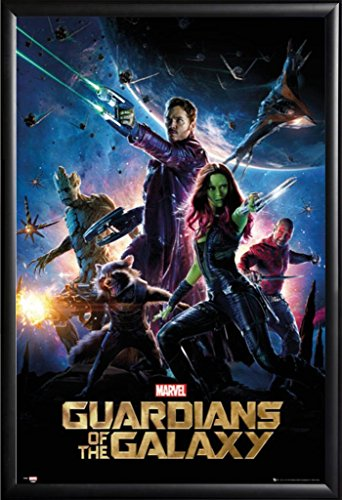 Framed Guardians Of The Galaxy - Movie 24x36 Poster in Matte
