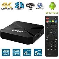 Edal T95E Android TV Box RK3229 Quad Core 32bit TV Box 1GB/8GB WiFi 2.4GHz Support 4K HD Video HDMI TV Box