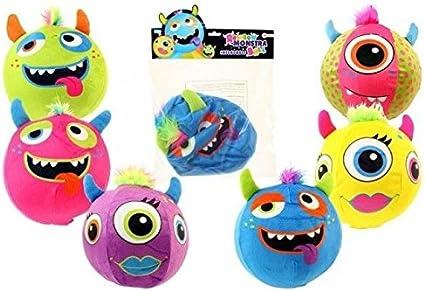 Balón de niño Monster inflable pelota Multicolor Funda de tela ...