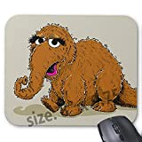 Gaming Mouse Pad Non-Slip Water Resistant Rubber Base Cloth Computer Mouse Mat-Vintage snuffleupagus Mousepad