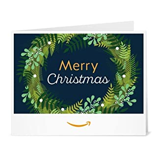 Amazon Gift Card - Print - Christmas Wreath (B077811QHK) | Amazon price tracker / tracking, Amazon price history charts, Amazon price watches, Amazon price drop alerts