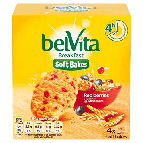 Belvita Soft Bakes, Granenkoekjes met rode vruchten, 250 g