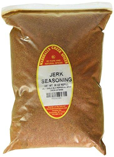 (Marshalls Creek Spices Kosher Jerk Seasoning Refill, 30 Ounce)