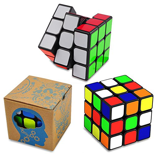 Rubix Cube Costumes (Magic Speed Cube: The Best Brain Training Game - 3X3 Easy Turning and Smooth Play, Super Durable with Vivid colors, Ultimate Holiday Gift Idea to Expand Your Mind with Hours of Logical Fun.)
