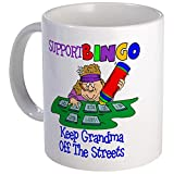 CafePress - Support Bingo Funny Mug - Unique Coffee Mug, Coffee Cup