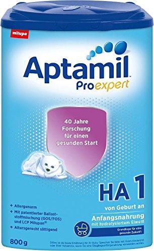 Aptamil HA 1 ProExpert, hipoalergénico Fórmula infantil, EazyPack,