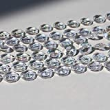 Tosnail 200 ft Crystal Beads by The Roll Crystal