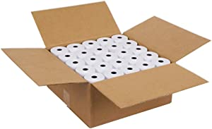 "SJPACK Thermal Paper 2 1/4"" X 85' Pos Receipt Paper, 50 Rolls Cash Register Roll (50 Rolls / 1 Carton)"