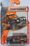 (US) Matchbox 2017 MBX Heroic Rescue Land Rover Defender 110 84/125, Black