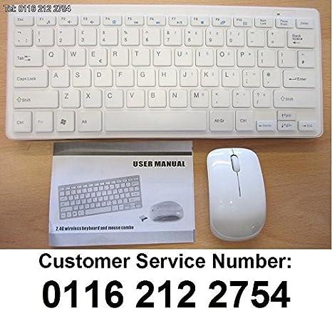 Mini teclado inalámbrico y ratón para SMART TV LG 42LM620T LG42LM620T: Amazon.es: Electrónica