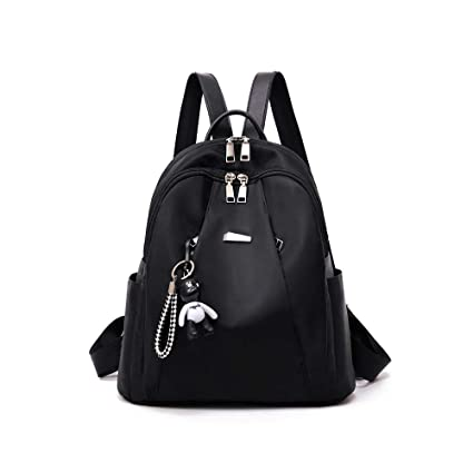 Women's Bags Japan And South Korea Womens New Full Waterproof Vertical Leather Shoulder Bag Leather Large Capacity Zipper Backpack Refreshment Backpacks