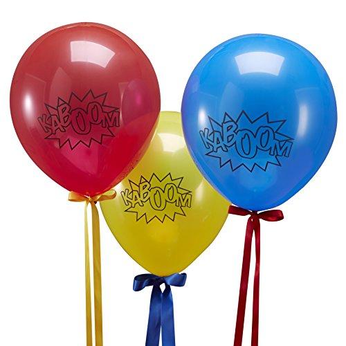 Ginger Ray Superhero Kaboom Balloons product image
