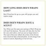 Bee's Wrap Lunch Pack, Eco Friendly Reusable