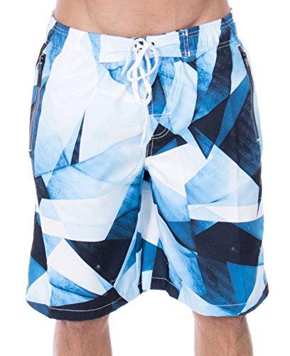 ZENCO Mens Signature Trunks Boardshort - Designed In California