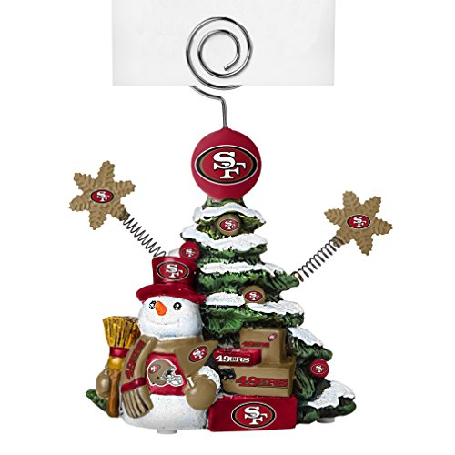 NFL San Francisco 49ers Tree Photo Holder (Francisco Sports Tree 49ers San)
