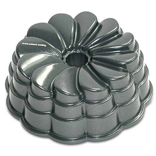 - Flower Cake Bundtlette Pan For Use With 3,5,6 AND 8 Qt. Pressure Cooker And Oven baking