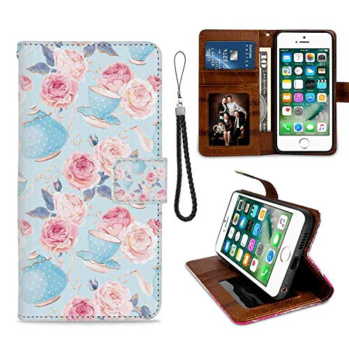 Wallet Case Compatible with iPhone 8 & iPhone 7 (4.7