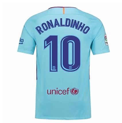Amazon.com   2017-2018 Barcelona Away Football Soccer T-Shirt Jersey ... c7d1c72af