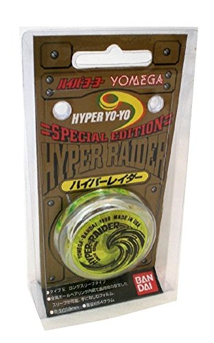 (Yomega Hyper Raider YoYo Light Green Clear Black)