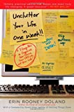 Unclutter Your Life in One Week, Erin R. Doland, 143915046X