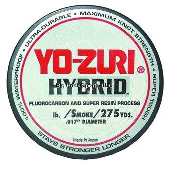 Yo-Zuri 275-Yard Hybrid Monofilament Fishing Line, Smoke Purple, 10-Pound For Sale