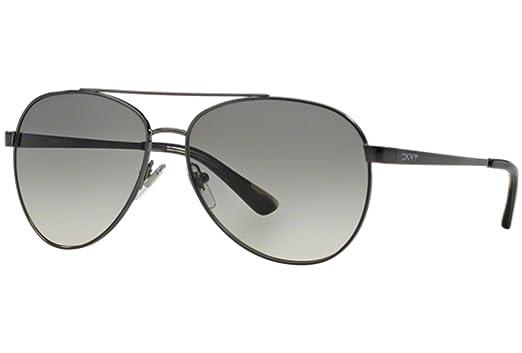 Amazon.com: DKNY dy5082 Gafas de sol 122511 – 59 – gunmetal ...