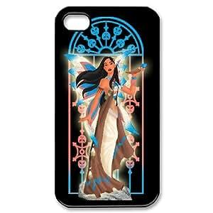 Disney Cartoon Pocahontas for iPhone 4,4S Phone Case 8SS459379