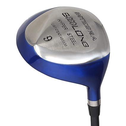 Amazon.com: Integra SoooLong Hyper Steel 9 Wood Golf Club ...