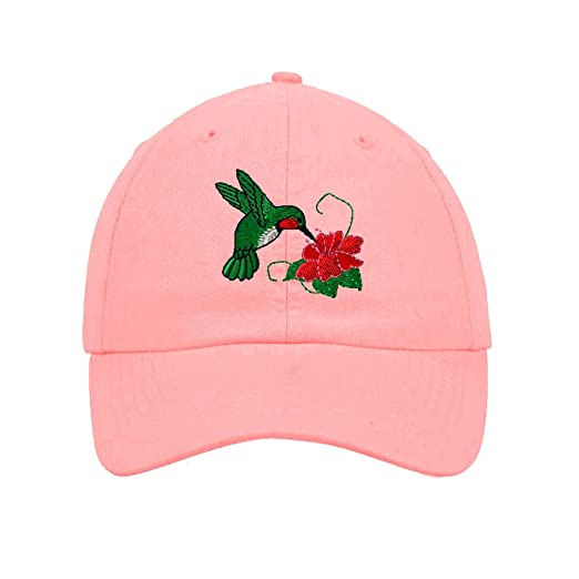4160ec4c96b Image Unavailable. Image not available for. Color  Speedy Pros Hummingbird  Embroidery Twill Cotton 6 Panel Low Profile Hat ...
