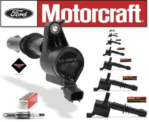 Price comparison product image Set of 8 Motorcraft Ignition Coils DG-511 + 8 Motorcraft Spark Plugs SP-515 PZH14F