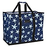 SCOUT 4 Boys Bag, Extra Large, Durable All Purpose Foldable Utility Tote, Folds Flat, Water Resistant, Zips Closed, Fish Upon a Star