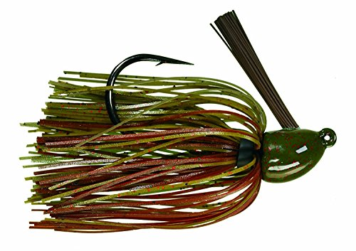 (Strike King Hack Attack Heavy Cover Jig Bait (Green Pumpkin Craw, 0.5-Ounce) )
