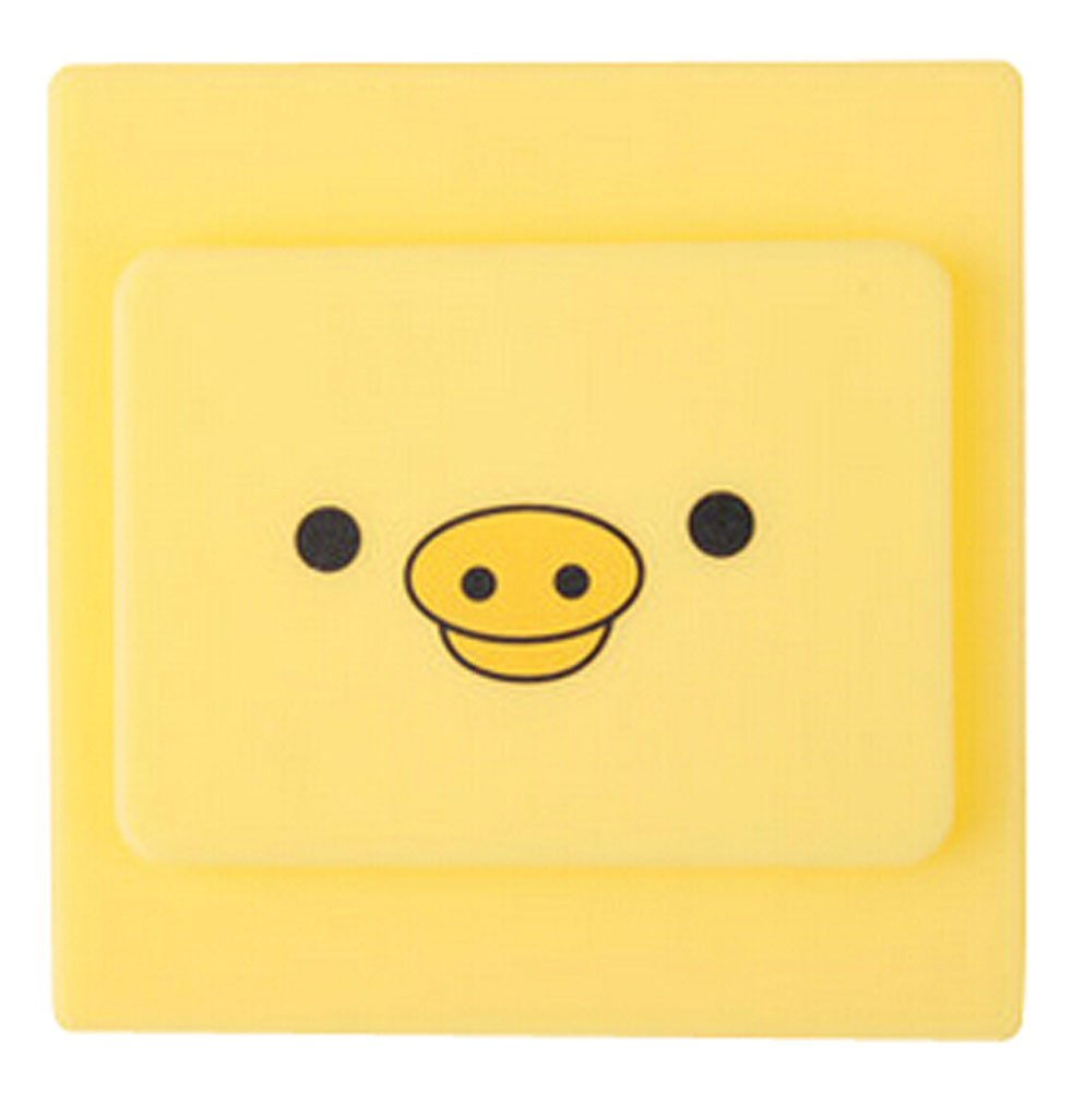 Dust-Touch Silicone Sleeve Wall Power Switch Protective Cartoon Switch Cover