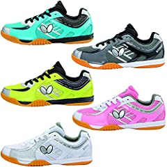 A high end table tennis shoe that combines style and functionality. It is a tournament quality shoe which was developed with the concept of style and durability in mind. A majority of the development process was spent focusing on the intense ...