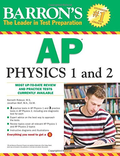 Barron's AP Physics 1 and 2 (Barron's Ap Physics B) cover
