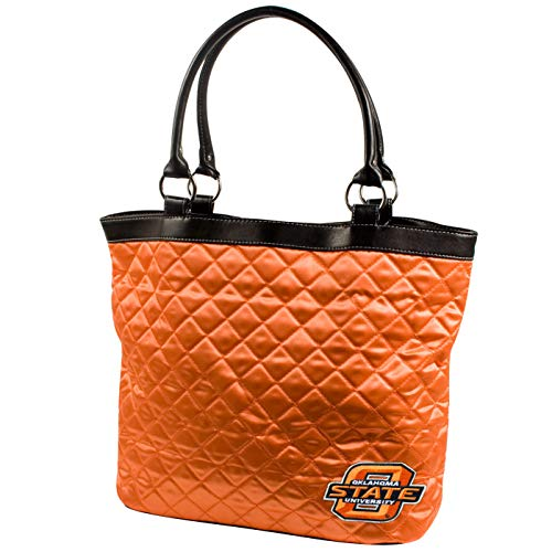 Oklahoma State Tote Bag - NCAA Oklahoma State Cowboys Quilted Tote