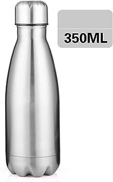 LXXTI Botellas de vacío 350ML, Termo de Agua Aislado de Doble ...