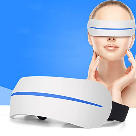 Amazon.com: MHRYA Masajeador de ojos eléctrico, 3D verde ...