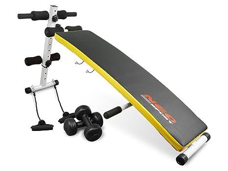 Sit-Up Banco de Neo Sport NS 07 – Aparato para entrenamiento lumbar Abdominales abdominal