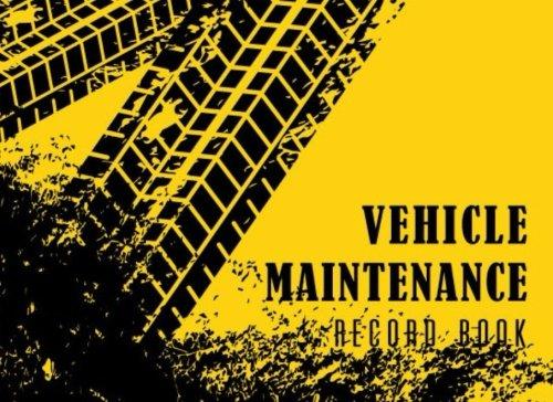 Ford Mileage Van (Vehicle Maintenance Record Book: Automotive Maintenance Log, Date, Mileage, Repair Car Log Book With 110 (8.25