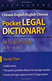 Chinese-English/English-Chinese Pocket Legal Dictionary, Young Chen, 0781812151