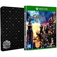 Kingdom Hearts lll - Brinde Steelbook - Xbox One